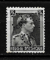 BELGIQUE  Perfin  Perfore   PC/B - Lochung