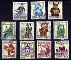 Poland - 1996 - Signs Of The Zodiac (Part Set) - Used - 1944-.... République