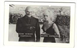 "Real Photo Movie Actors Jean Marais And Mylene Demongeot In ""FANTOMAS"",  9x6cm - Acteurs"