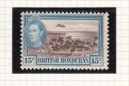 King George VI - 1938 - Honduras Britannico (...-1970)