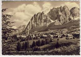 Cortina  D'ampezzo - Pomagagnon - 1954 - Italy