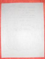 WW1 :  Programme Polycopié : Grand Concert Offert Par Les Chasseurs Du 10ème – Salle Giret à Nanteuil – 14 Mai - Documents