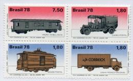 Serie Nº 1335/40    Trenes Brasil - Treni