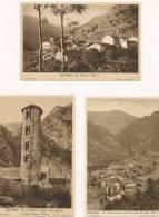 CARTES POSTALE PANTEBRE 3 DIFFERENTS 1960 - Andorra