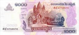 CAMBODGE   1 000  Riels   Daté De 2007   Pick 58 B         ***** BILLET  NEUF ***** - Cambodia