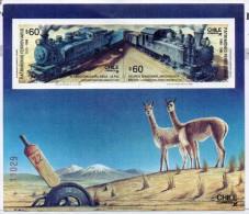 Hb-32 Chile - Treni