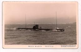 "Sous-Marin - "" RUBIS "" - Marius Bar Phot Toulon - - Sous-marins"
