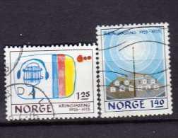 Norvège Y&t N°668.669...obli Tér és - Oblitérés