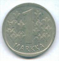 F3132 / - 1 Markka - 1970  - Finland Finlande Finnland Finlandia - Coins Munzen Monnaies Monete - Finlande