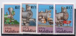 Serie Nº  1315/8  Maldives - Treni