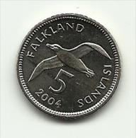 2004 - Falkland 5 Cents, - Falkland