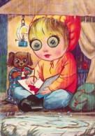 Moving Eyes, Oogjes, Writing, Bear - Humor