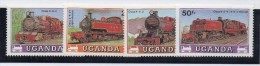 Serie Nº 498/501  Uganda - Treni