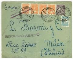 PERU´ - LETTERA   PER L´ITALIA - ANNO 1932 - POSTA AEREA - Peru