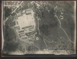 GUERRE 14/18 - GERARDMER (VOSGES) - LA CASERNE -  VUE AERIENNE PRISE LE 22/07/1918 - War, Military