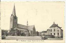TURNHOUT..... GROTE  Markt  MET  DE  KERK. - Turnhout