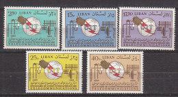 K0513 - LIBAN AERIENNE Yv N°363/67 ** UIT ITU - Lebanon