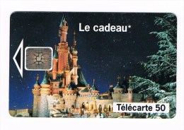 ° FRANKRIJK   1  TELECARTE 50 EURO DISNEY - LE CADEAU 1993 - Frankrijk