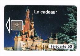 ° FRANKRIJK   1  TELECARTE 50 EURO DISNEY - LE CADEAU 1993 - France