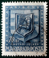 ARMOIRIES DES HUNYADI 1945 - OBLITERE - YT 645 - Hongrie