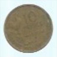 10 FRANC 1950 B  Bronze GUIRAUD - France