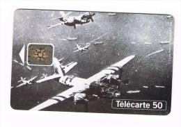 ° FRANKRIJK   1  TELECARTE 50 - 50 ANS DEBARQUEMENTS  1994 - France