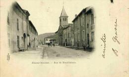 NEUVES-MAISONS - MEURTHE ET MOSELLE - (54) - PEU COURANTE CPA PRECURSEUR ANIMEE DE 1901. - Neuves Maisons