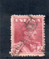 ESPAGNE 1922-30 O - 1889-1931 Kingdom: Alphonse XIII
