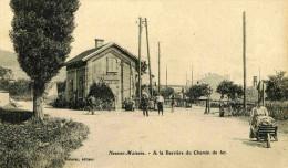 NEUVES-MAISONS - MEURTHE ET MOSELLE - (54) - PEU COURANTE CPA ANIMEE DE 1908. - Neuves Maisons
