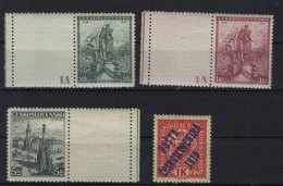 Tschechoslowakei Michel No. 345 - 356 , 358 ** postfrisch