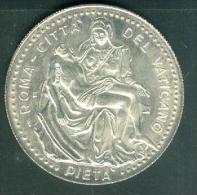 Roma - Citta Del Vaticano - PIETA - Joannes Pavlvs II Pont. Max. Silver  - Pic2704 - Vatican