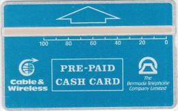 BERMUDA ISL. - Blue Generic 100 Units, Tirage 2500, CN : 309B, Mint - Bermuda