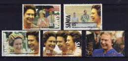Samoa - 1992 - 40th Anniversary Of QEII's Accession - Used - Samoa