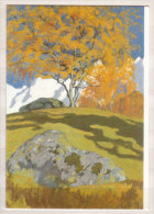 Giovanni Giacometti , Herbst , 1903 , Oel Auf Leinwand , Kunstmuseum Solothurn - Malerei & Gemälde
