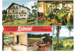 """Deutschland - Wieslet Henschenberg - Gasthaus Pension """" Lindenhof """" - Sin Clasificación"""
