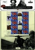 GREAT BRITAIN - 2008 TERRITORIAL ARMY COMMEMORATIVE SHEET - Fogli Completi