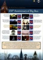 GREAT BRITAIN - 2009   ANNIVERSARY OF BIG BEN  COMMEMORATIVE SHEET - Fogli Completi