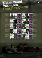 GREAT BRITAIN - 2010   GRAND PRIX  COMMEMORATIVE SHEET - Fogli Completi