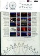 GREAT BRITAIN - 2010   LONDON EYE   COMMEMORATIVE SHEET - Fogli Completi