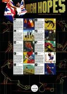 GREAT BRITAIN - 2011   OLYMPIC GAMES  III   COMMEMORATIVE SHEET - Fogli Completi