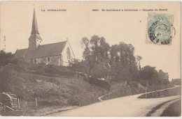 CPA 76 LE MESNIL Près Quilleboeuf Et Lillebonne La Chapelle 1905 - Francia