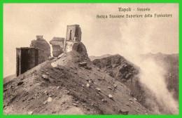 TROIS C.P.A NAPOLI - Lave Del Vesuvio - Cratere Del Vesuvio  Antica Stazione(rectos Versos) - Napoli (Naples)