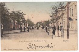 CPA - ROUMANIE - GALATI /  Stada Domneasca In Fata… - Roumanie