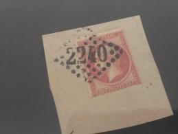 LOT 199664 TIMBRE DE FRANCE OBLITERE N�24 VALEUR 40 EUROS