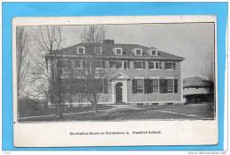 POMFRET SCHOLL-+Recitation Room Or Dormatory A-+a Circulé  Pour Françe En 1914 - Etats-Unis