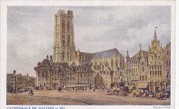 Cathédrale De Malines En 1833 (d´après S. Prout) - Mechelen