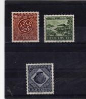 """Liechtenstein (1954)  - """"Découvertes Préhistoriques""""  Neufs* - Liechtenstein"""