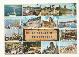 Cp, 50, Le Cotentin, Multi(Vues, Voyagée 1982 - France