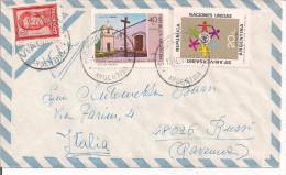 ARGENTINA, LETTERA VIAGGIATA  1969, PER  RUSSI  ITALIA, - Storia Postale