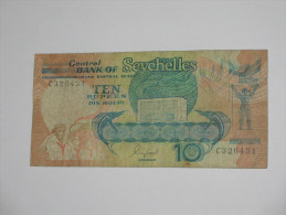 10 Ten Rupees - Central Bank Of Seychelles  - SEYCHELLES -  **** EN ACHAT IMMEDIAT **** - Seychelles
